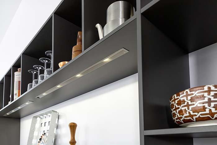 Подсветка внутри шкафов