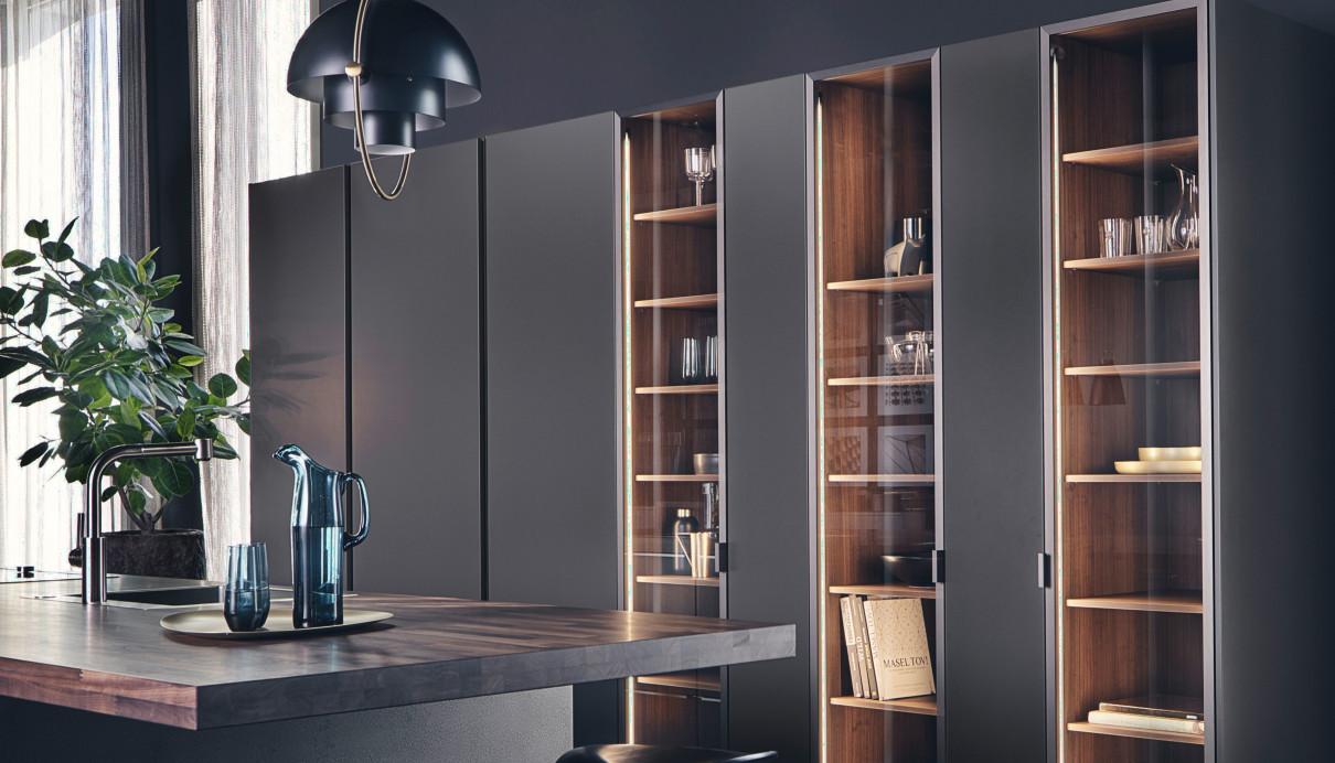 оснащение шкафов кухни leicht