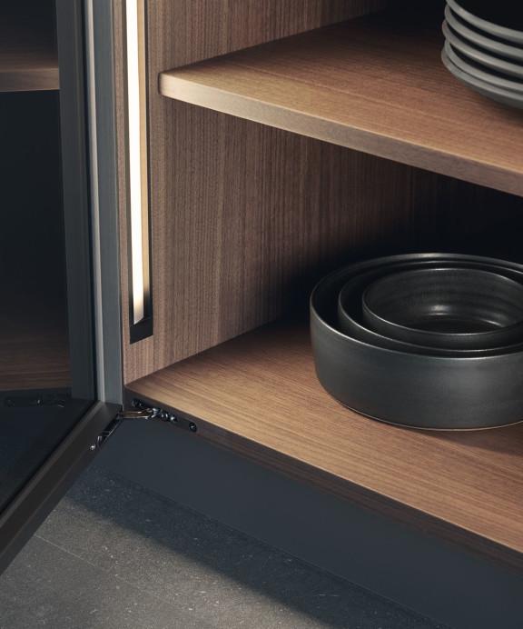 система vero шкафов Leicht